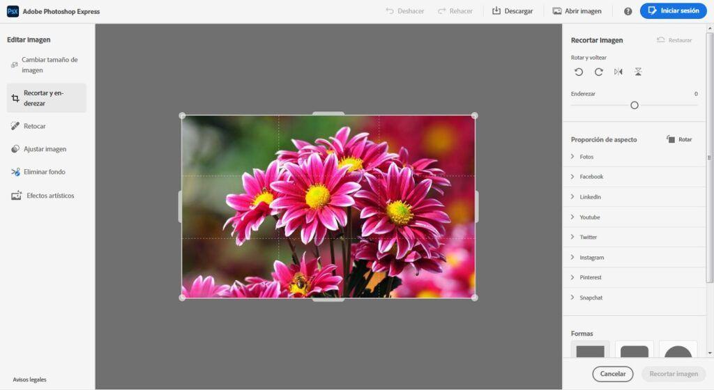 Editar imagen online